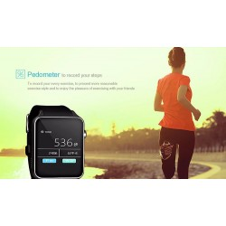 GT88 NFC Bluetooth smart electronics watch Android IOS mens watch with 20M  CameraCall remindslee